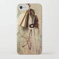 world maps iPhone & iPod Cases featuring Maps by Sciuridae