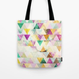 Triangles madness Tote Bag