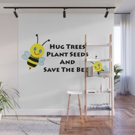 SaveThe Bees Wall Mural