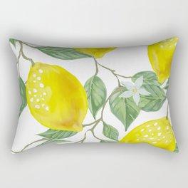Life Giving You Lemons Rectangular Pillow