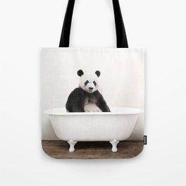 Panda Bath (c) Tote Bag