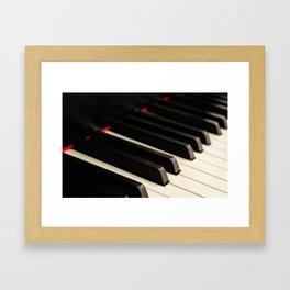 Piano 3 Framed Art Print