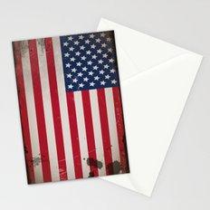 Vintage USA Flag Stationery Cards