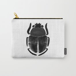 Black scarab Carry-All Pouch