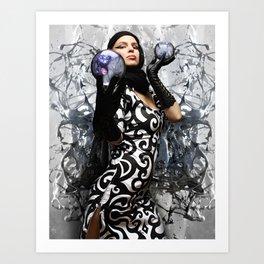 HVH Liquid  Art Print