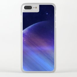Secrets of the galaxy Clear iPhone Case