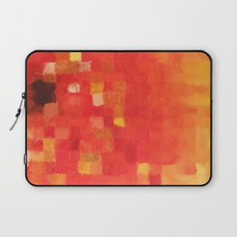 Pixelated Sunflower Laptop Sleeve