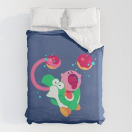Lunch Date Duvet Cover