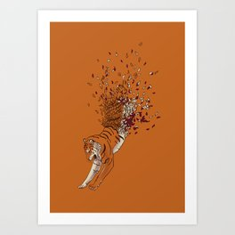 Gone with the Winds Art Print