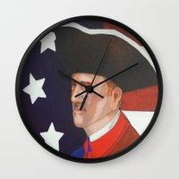 revolution Wall Clocks featuring Revolution by Trehan's Treasures