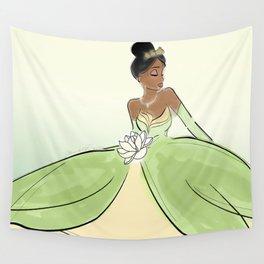 Princess Tiana. Wall Tapestry