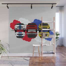 American Muscle Wall Mural