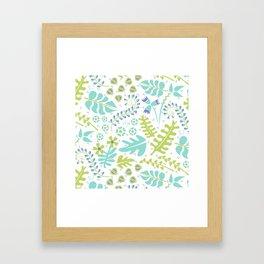 Fresh Herbs Framed Art Print