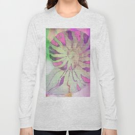 NAUTILUS SEA SHELL IMPRESSION Long Sleeve T-shirt