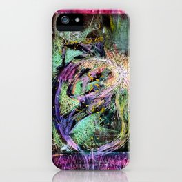 MakingLove iPhone Case