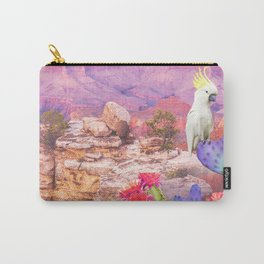 Flowers in the desert Carry-All Pouch