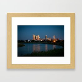 Fort Worth, Texas Framed Art Print