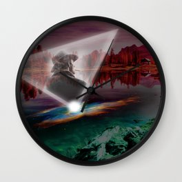 A Perfect Place Wall Clock