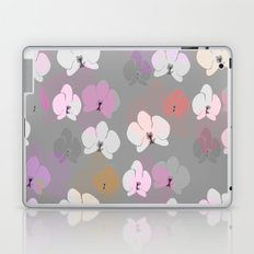 Grey Orchids Laptop & iPad Skin