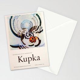 Frank Kupka Exhibition poster 1975 Stationery Cards