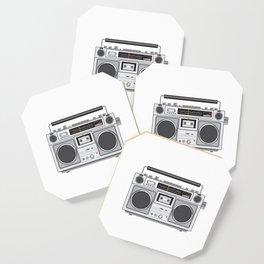 Vintage Portable Radio Cassette Player Retro Coaster