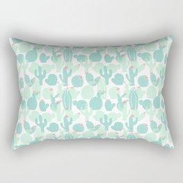 Sweet Baby Cacti Rectangular Pillow