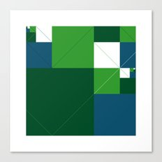 #542 Acres – Geometry Daily Canvas Print