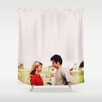 grease Shower Curtains featuring GREASE by VAGABOND