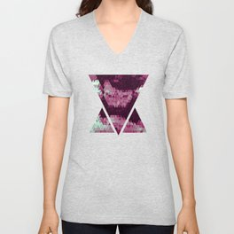 Abstracted Man II Unisex V-Neck