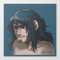 kili Canvas Prints featuring Kili ColorPalette by AlyTheKitten