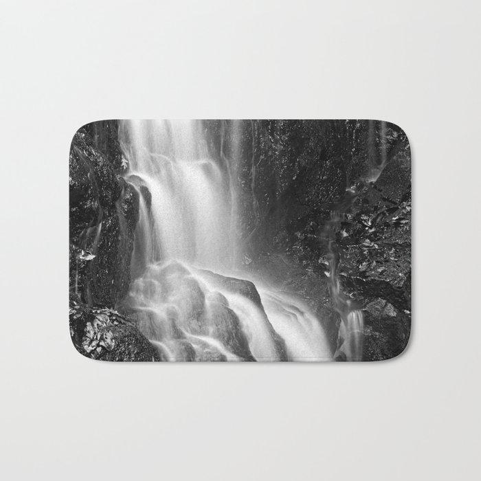 Avalon Falls - Black & White Bath Mat