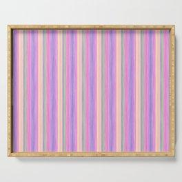 Lilac Pink Purple Scrapbook Sherbert Serving Tray