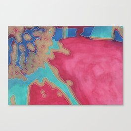 top side up (that side) Canvas Print