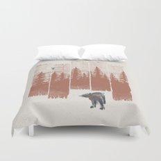 A Bear in the Wild... Duvet Cover