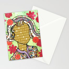 Violaceae Stationery Cards