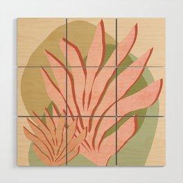 Sea grass - Shapes and Layers no.37 Wood Wall Art