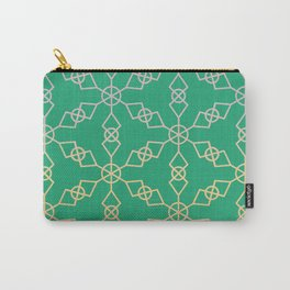 Green Star Trellis Carry-All Pouch