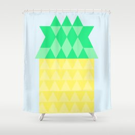 Pineapple House Shower Curtain