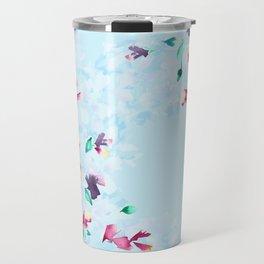 Delphinium bushes Travel Mug