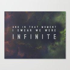 New Infinite Print Canvas Print