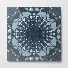Rainy Day - Mosaic Metal Print