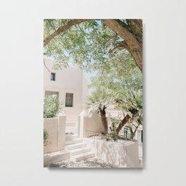 Santorini 0024: Pyrgos, Santorini, Greece Metal Print