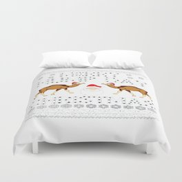 merry hump day ugly Duvet Cover
