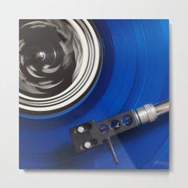 turntable tourne disque Metal Print