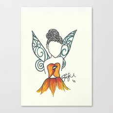 Iridessa Zen Tangle Canvas Print