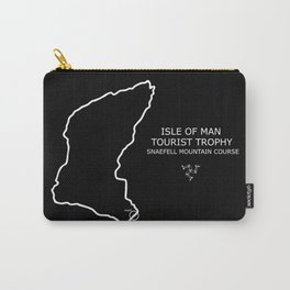 Isle Of Man Mountain Course Carry-All Pouch