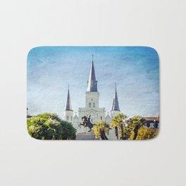 Jackson Square New Orleans Bath Mat