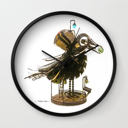 :: Trojan Crow :: Wall Clock