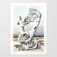 080714 Art Print