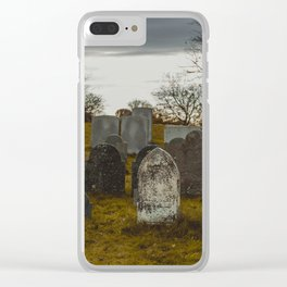 Old Burial Hill, Marblehead, MA Clear iPhone Case
